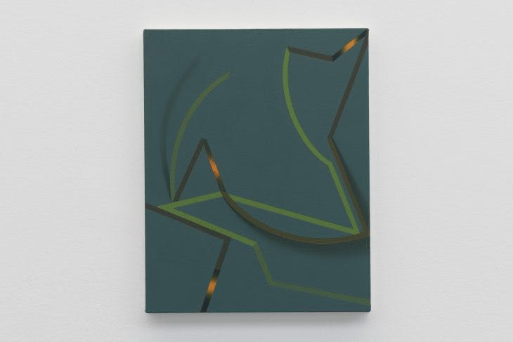 Bilte, (2008) Tomma Abts, installation view at the Serpentine Sackler Gallery, 2018, © 2018 readsreads.info