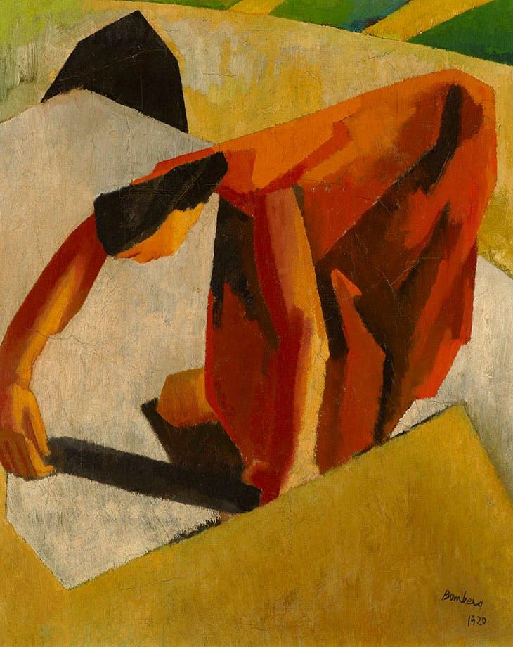 English Woman (1920), David Bomberg.