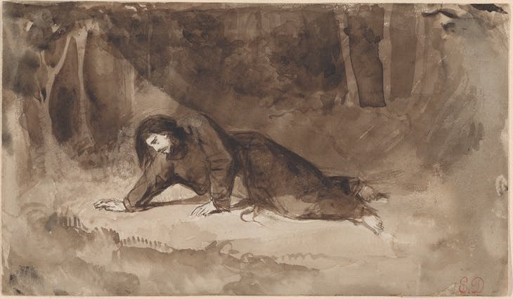 The Agony in the Garden, Delacroix