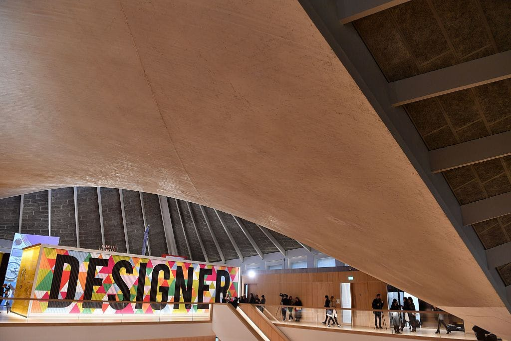 The Design Museum in Kensington, London.