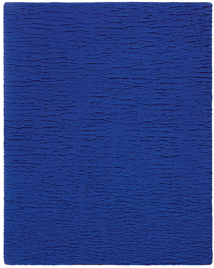 Untitled Blue Monochrome (IKB 67), Yves Klein Blue
