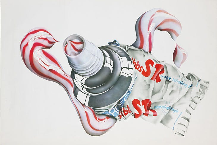 Gibbs toothpaste poster print (c. 1970), Michael English. British Dental Association Museum