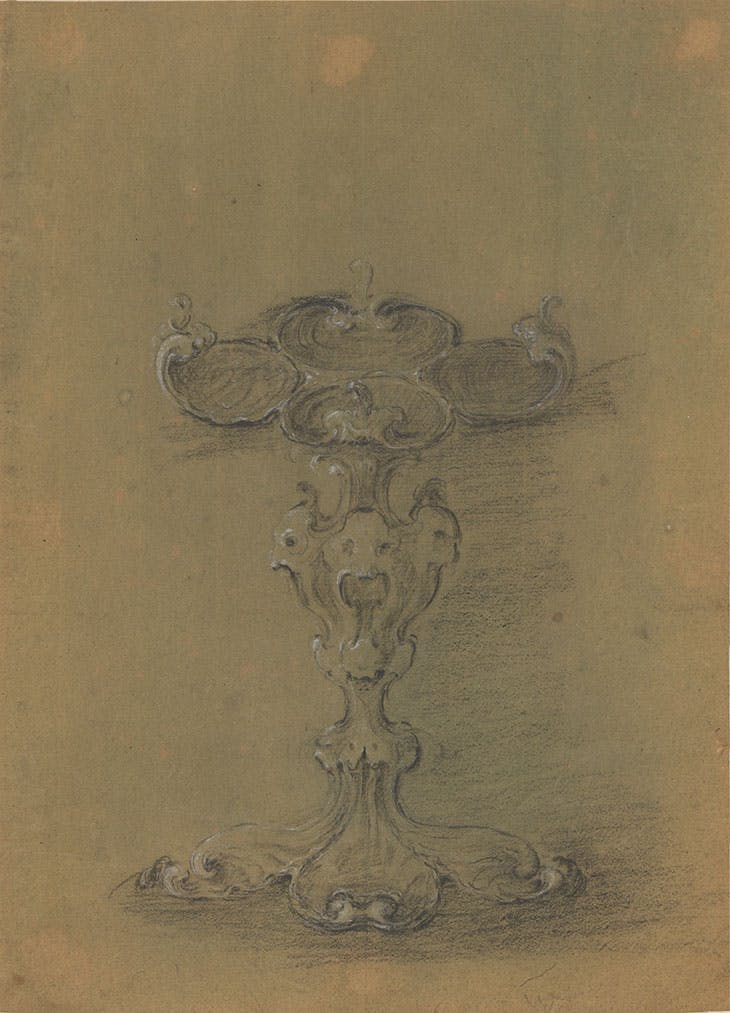 Design for a condiment dish (c. 1640–50), attributed to Johannes Lutma. Rijksmuseum, Amsterdam