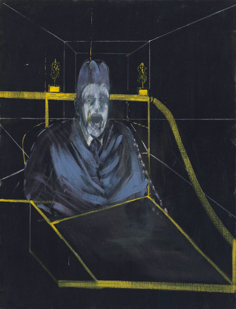 Study for Portrait VII, (1953) Francis Bacon, MoMA, New York,