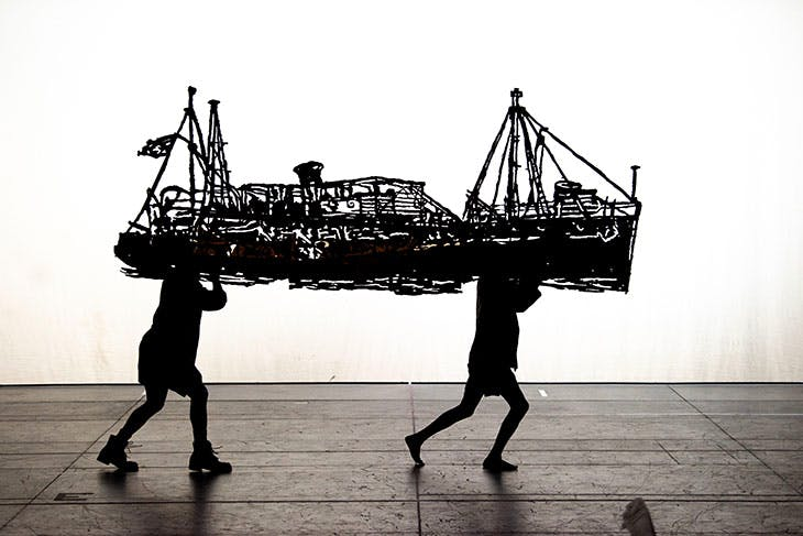 The Head and the Load (2018), William Kentridge.
