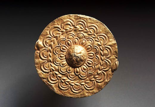 Pectoral disc (19th century), Ghana, Asante peoples