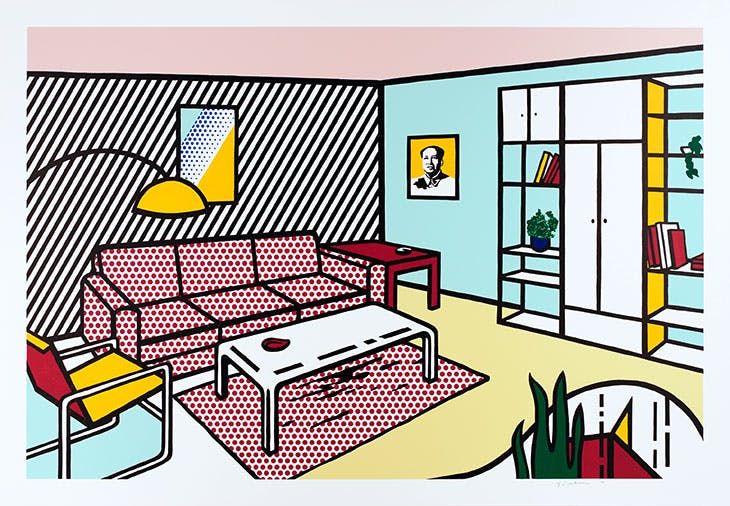 Modern Room (1990/91), Roy Lichtenstein.