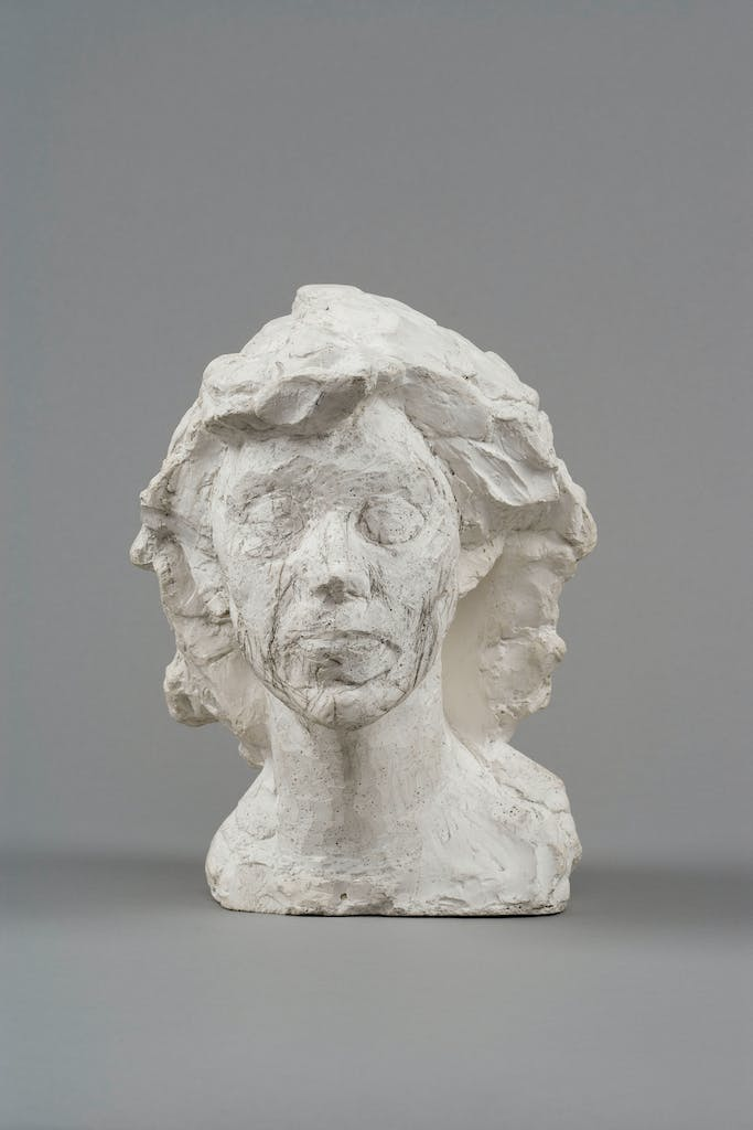 Head of Isabel, (1937–39), Alberto Giacometti, Fondation Giacometti, Paris.