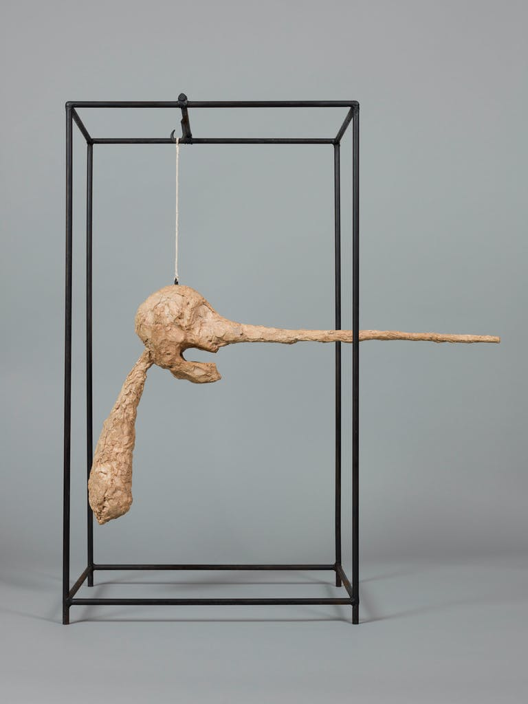 The Nose, (1947) Alberto Giacometti, Fondation Giacometti, Paris, photo: J.P. Lagiewski; © Alberto Giacometti estate/ProLitteris in Switzerland 2018