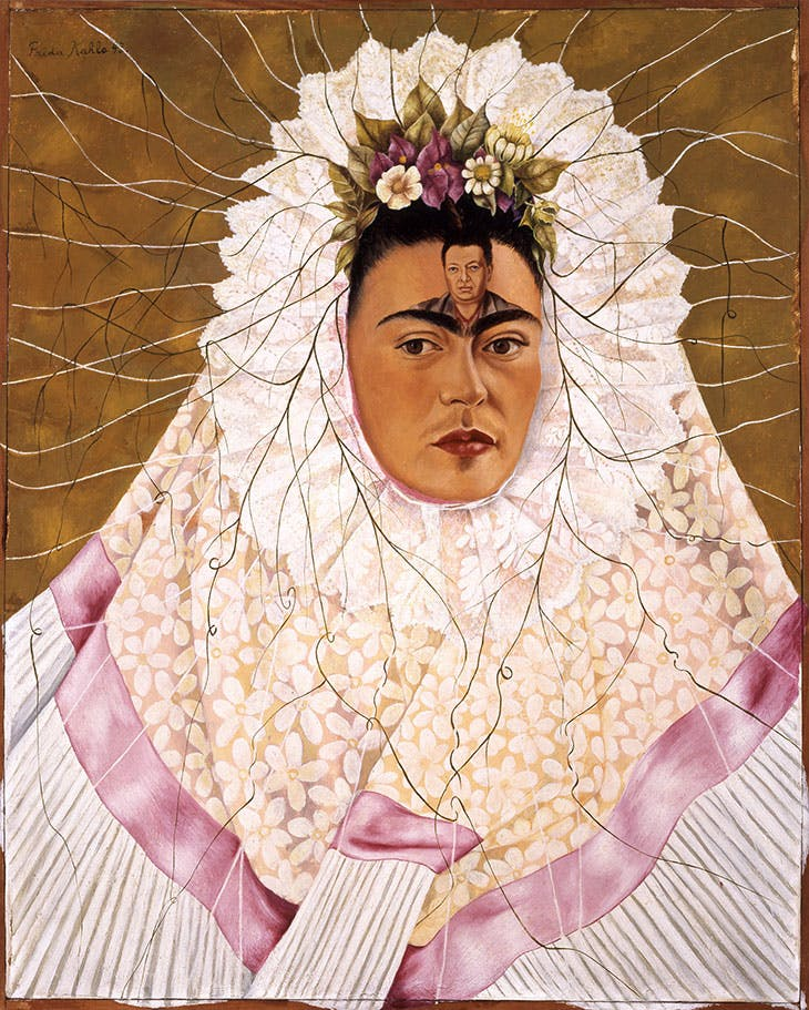 Self-Portrait as a Tehuana (1943), Frida Kahlo.