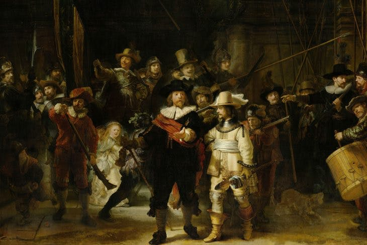 The Night Watch, Rembrandt van Rijn