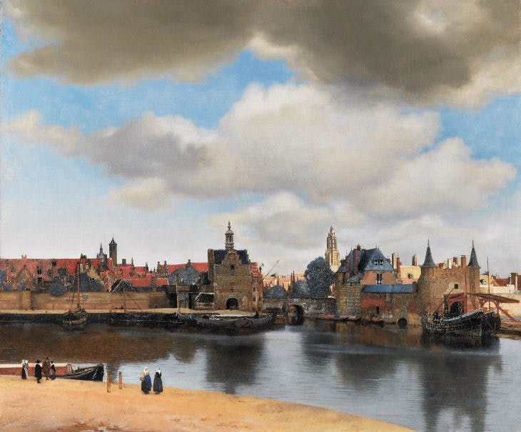 View of Delft, Vermeer
