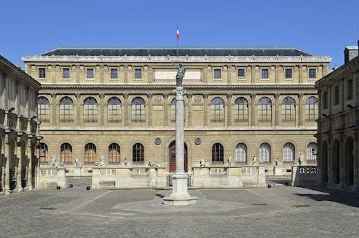 The École nationale supérieure des Beaux-Arts in Paris.