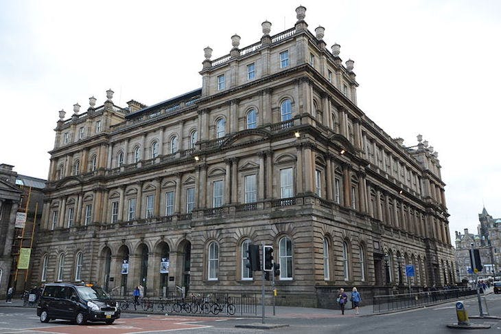 Waverley Gate, the site of Creative Scotland's Edinburgh headquarters.