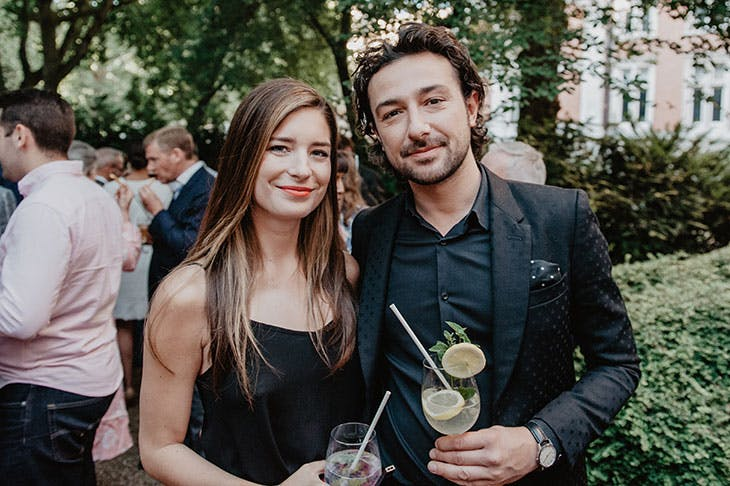 Nettie Wakefield and Alex Zane.