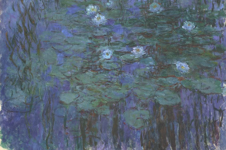 Blue Water Lilies, Claude Monet