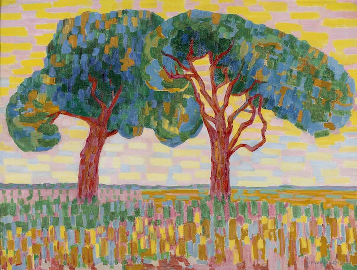 Two Trees (1908–10), Jacoba van Heemskerk. Courtesy of Gemeentemuseum Den Haag