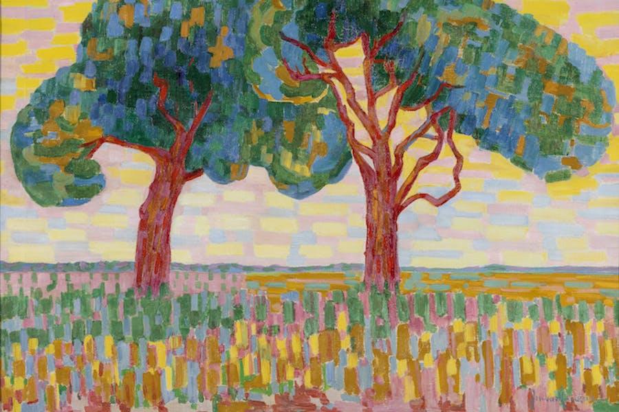 Two Trees (1908–10), Jacoba van Heemskerk. Courtesy of Gemeentemuseum Den Haag