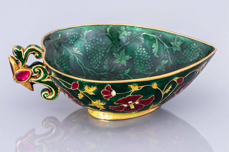 Cup (17th century), India.