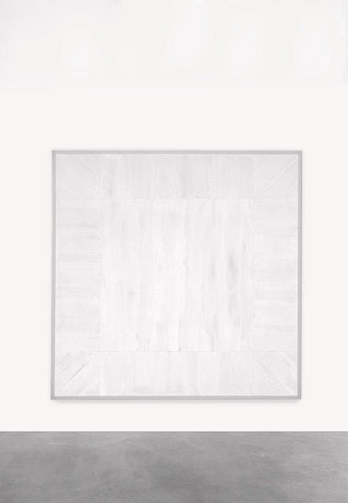Untitled (First White Light Series) (1968), Mary Corse.