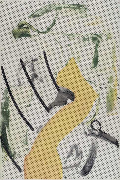 Dub Stamp (one from a sequence of 30 double-sided pieces). (2018), Amy Sillman.