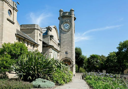 The Horniman Museum and Gardens in Forest Hill, London, designed by Charles Harrison Townsend and constructed in 1898–1901.