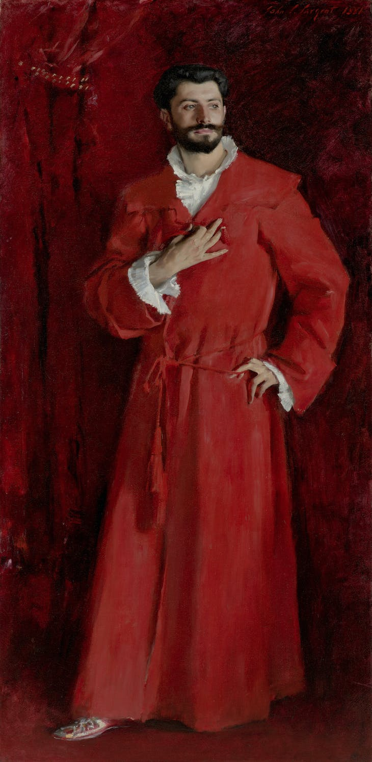 Dr. Pozzi at Home, John Singer Sargent
