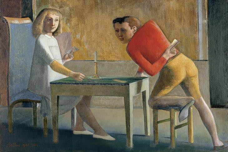 Game of Cards, Balthus