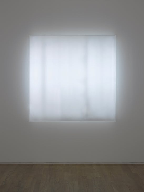 Untitled (Electric Light) (1968/2018) Mary Corse.