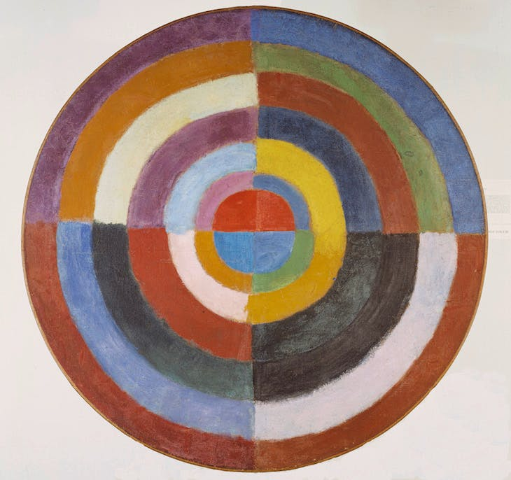 Disk (The First Disk), Robert Delaunay