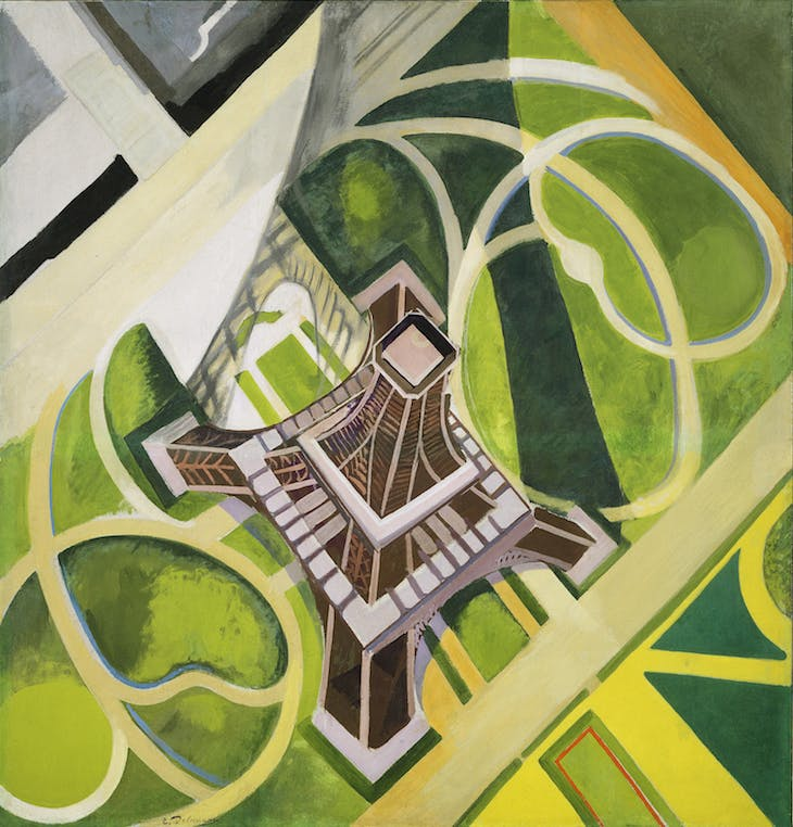 The Eiffel Tower and Champ de Mars, Robert Delaunay