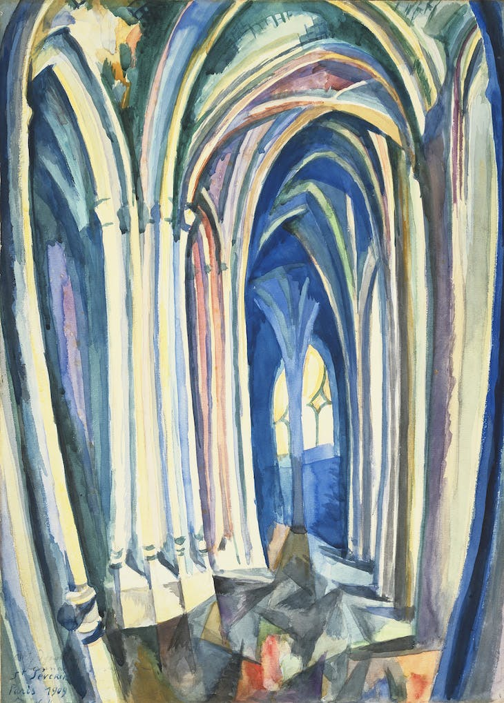 Saint-Séverin, Robert Delaunay