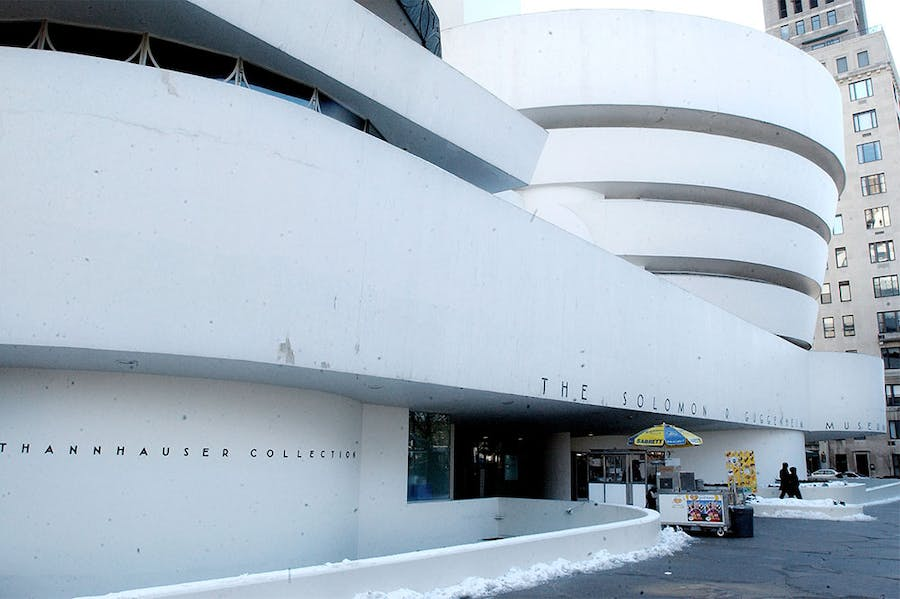 The Guggenheim Museum in New York, photographed in 2004.