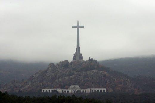 The Valley of the Fallen in Es Escorial, Spain.
