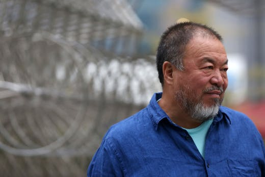 Ai Weiwei photographed in May 2018..