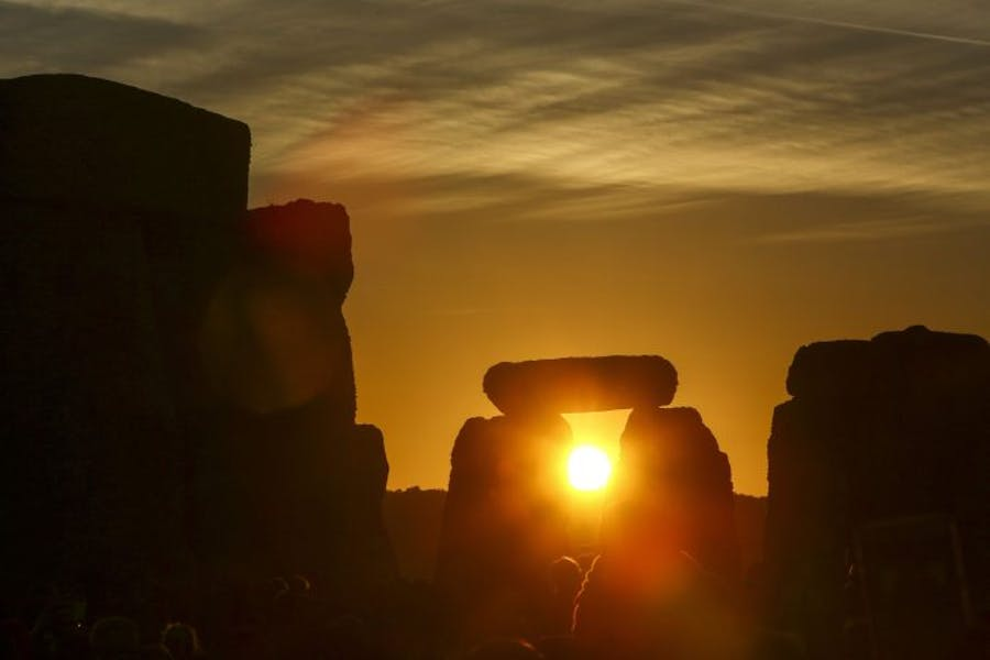 Sunrise at Stonehenge in June 2018. Photo: GEOFF CADDICK/AFP/Getty Images