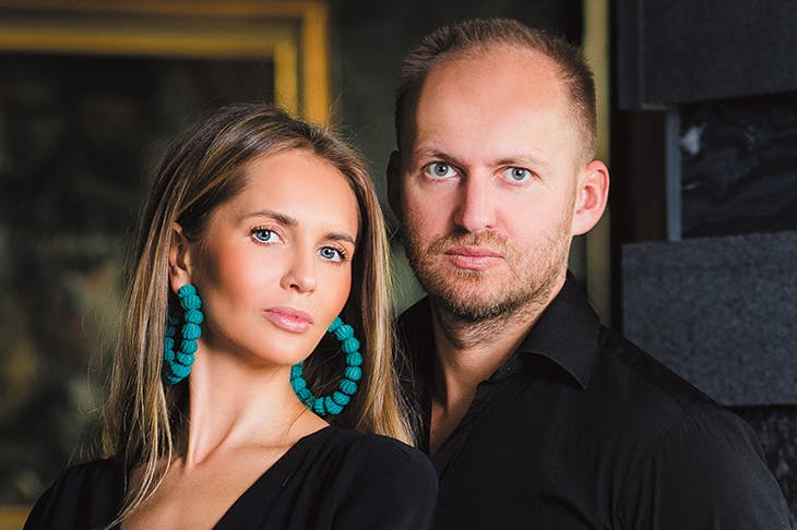 Irmina Nazar and Artur Trawinski