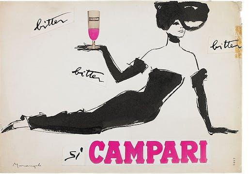 Bitter Campari (1960s), Franz Marangolo.