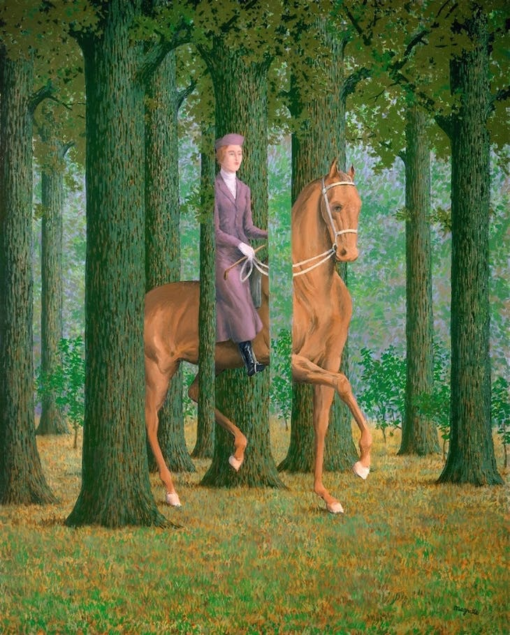 Le Blanc Seing, Magritte