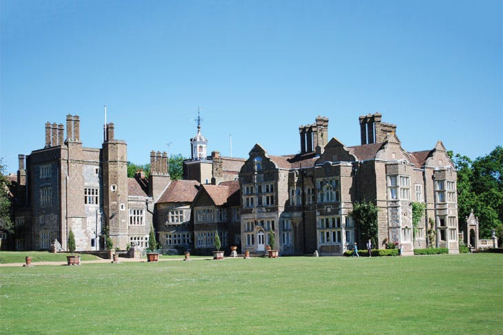 Betteshanger (now Northbourne Park School), Kent, remodelled by George Devey from 1856.