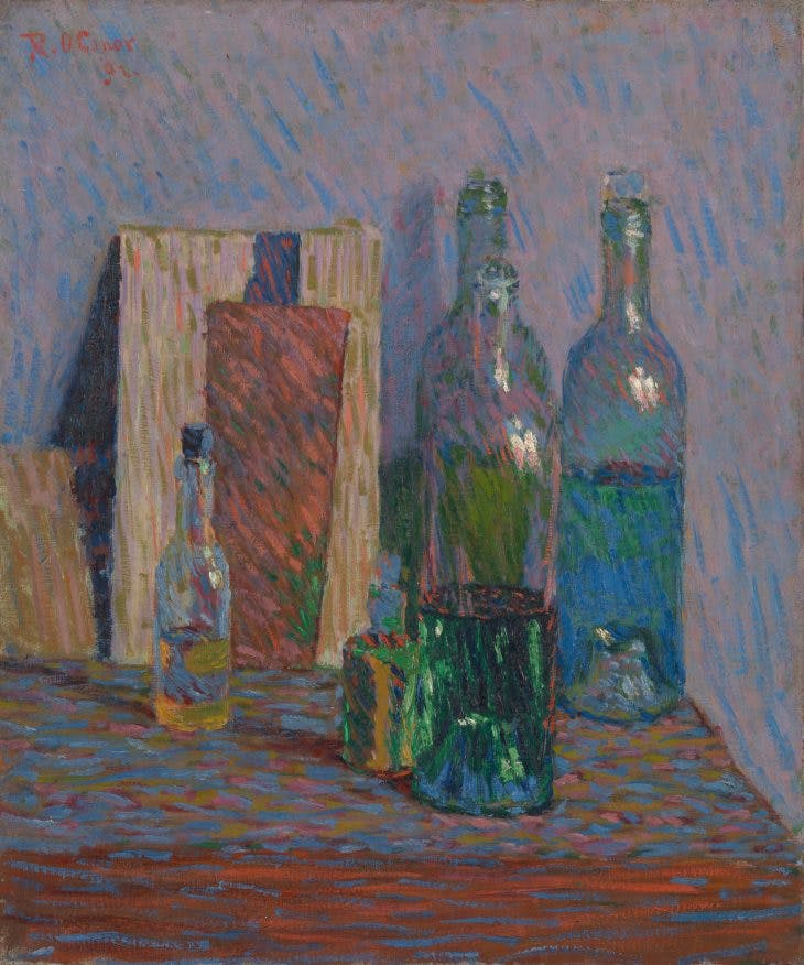 Still Life with Bottles, Roderic O'Conor