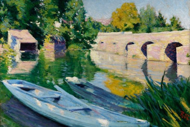 The Bridge at Grez, Roderic O'Conor