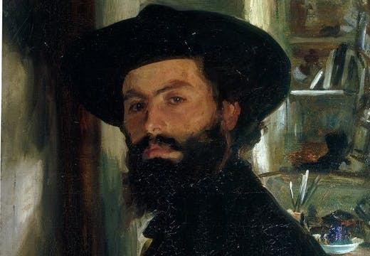 Alberto Falchetti, (1905), John Singer Sargent, private collection