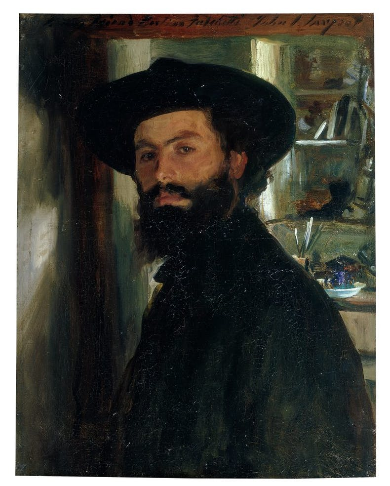 Alberto Falchetti, (1905), John Singer Sargent. Private collection