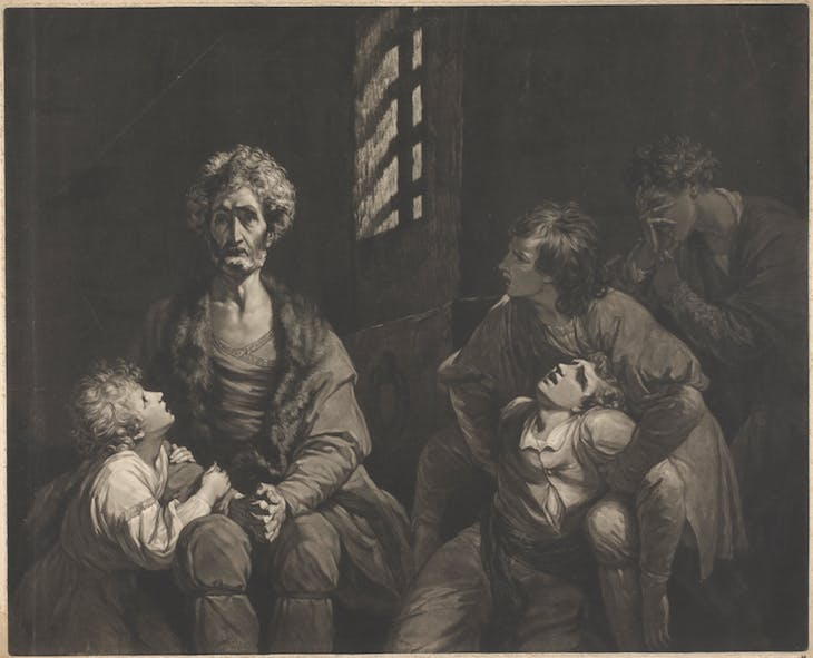Count Ugolino della Gherardesca and his Sons in Prison, John Dixon