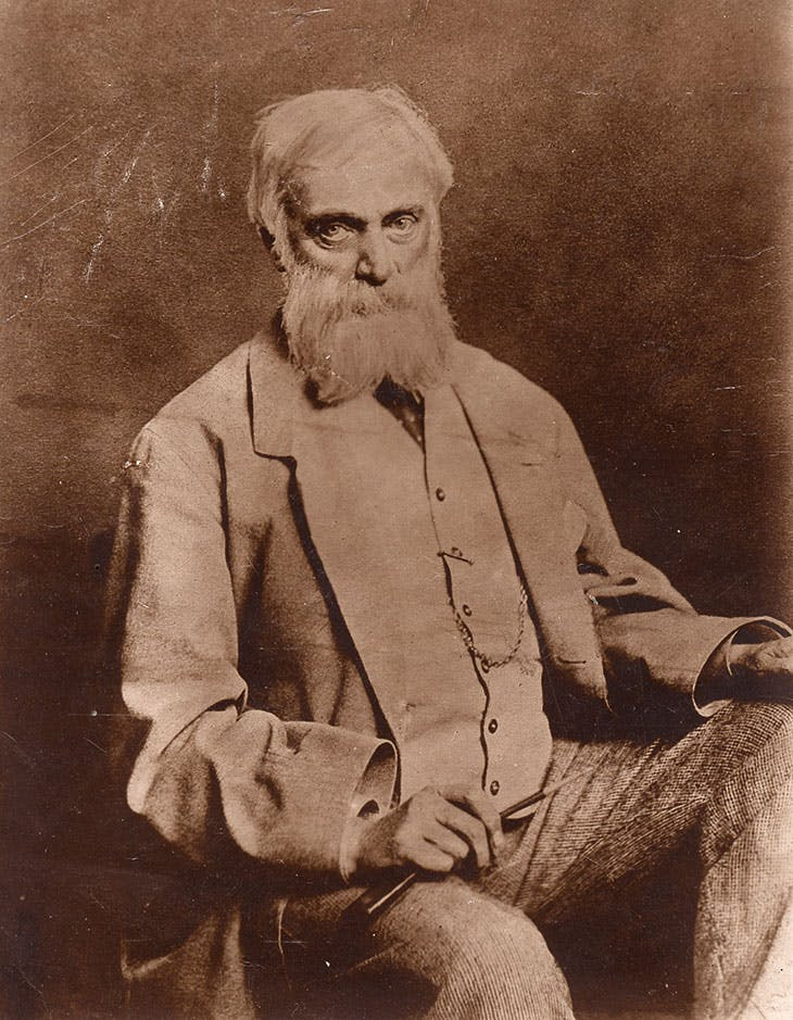 George Devey, photographed in 1880.
