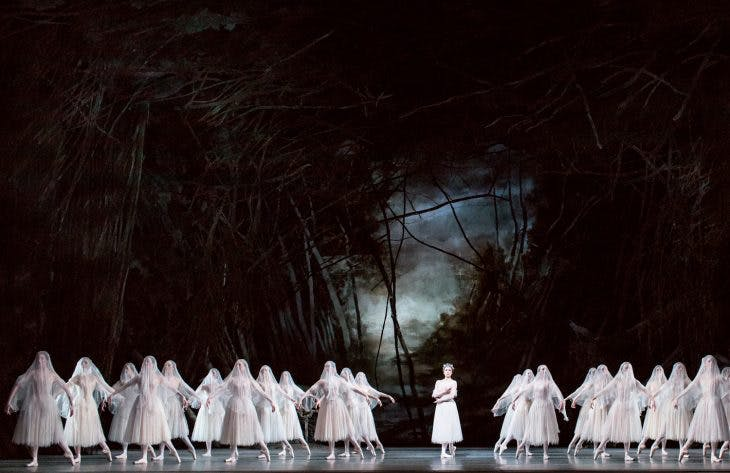 'Giselle' (1841), performed by the Royal Ballet at the Royal Opera House, London, in 2018, in a production using designs from 1985 by John Macfarlane, photo: Helen Maybanks; © ROH 2018