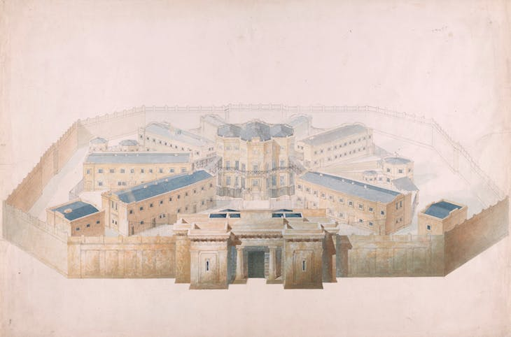 A Design for a Prison, Wyatville