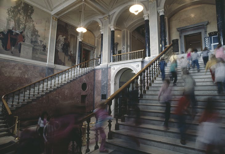 Nationalmuseum interior.