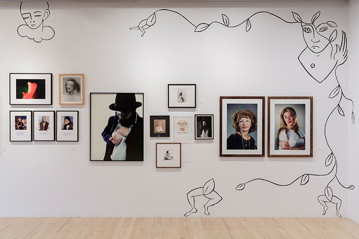 Installation view of 'DRAG' at the Hayward Gallery's HENI Project Space, London.